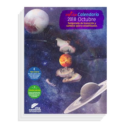 AstroCalendario Octubre 2018